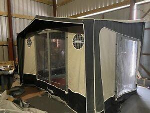 Isabella Magnum 250 Coal Caravan Porch Awning, Fits 235 ...