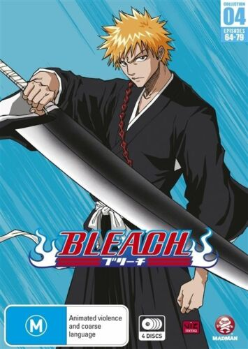 1 of 1 - Bleach : Season 4 (DVD, 2010, 4-Disc Set) New/Sealed - Region 4 Free Shipping