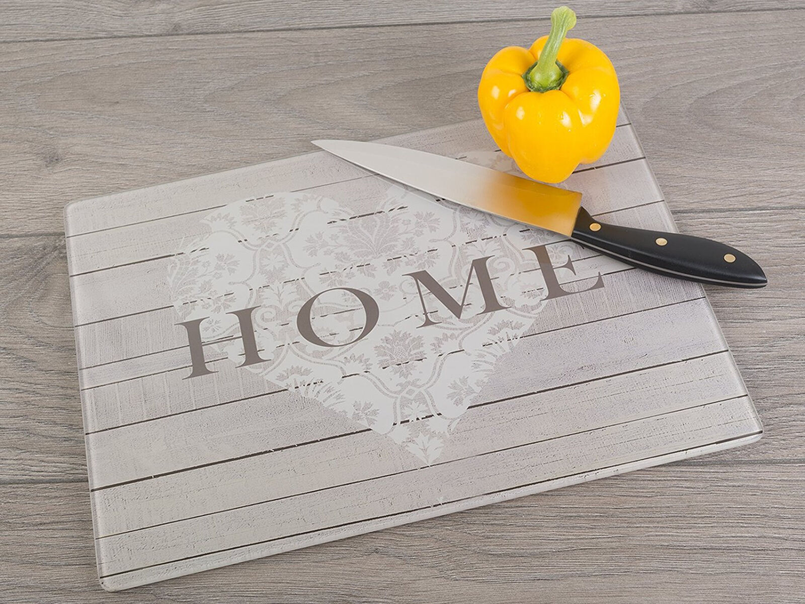 Kitchen Chopping Board Worktop Protector Home Glass Surface Cutting ...
