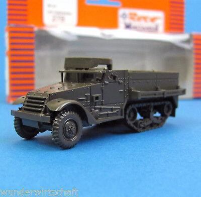 Roco Minitanks H0 278 M21 MMC Mörser Halbkettenfahrzeug US Army WWII HO 1:87 OVP