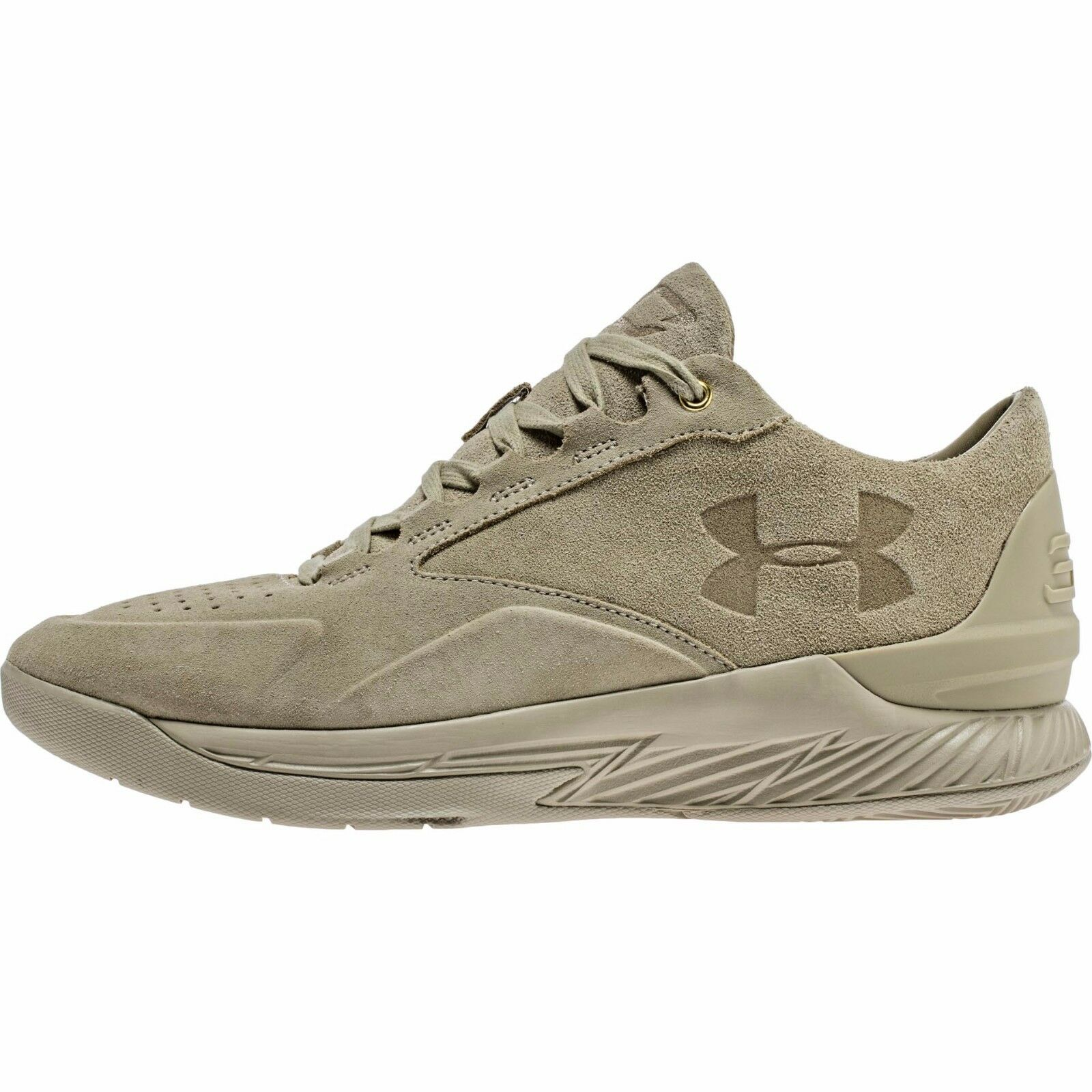 Under Armour UA Steph Curry 1 Low Suede SZ 8 Desert Desert 1298702-290