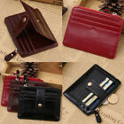 Women's Leather Slim Wallet Pocket Money Clip Credit ID Card Holder Billfold