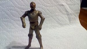 Hasbro-Star-Wars-Loose-Figure-Protocol-Droid-RA-7-Gold-from-Sandcrawler-RARE