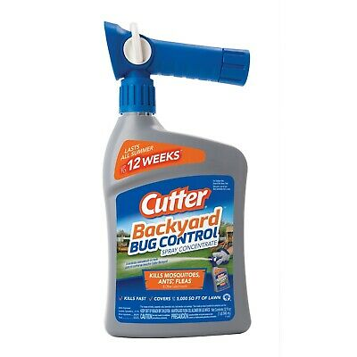 Cutter Backyard Bug Control Spray Concentrate Ready-to ...