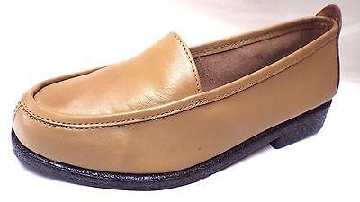 Zapatos de Cuero nuevos Para Damas Talla 3 Beige antideslizante en best seller mulas cubierta de Office 3066