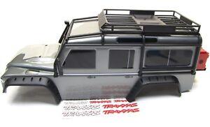 TRX-4-DEFENDER-BODY-silver-Spare-Tire-Fenders-Land-Rover-Traxxas-82056-4