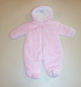 2e337d099855 Infant Girl s Child of Mine by Carter s Pink Fleece Lined Footed ...