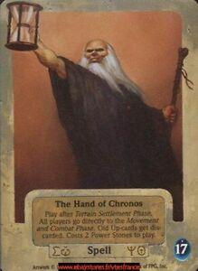 The Hand of Chronos ENG Dagger Isle Guardians CCG