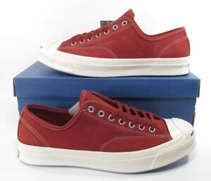 db21745b525f Converse Jack Purcell JP Signature Series Ox Suede Leather RED BLOCK ...
