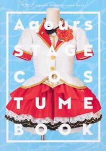128pages 210 x 297 mm Love Live Sunshine Aqours Stage Costume Book KADOKAWA A4