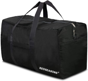 Extra Large Duffle Bag Travel Luggage Sports Gym Tote Men Women 96L Waterproof