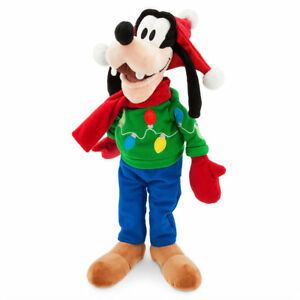 Image Is Loading DISNEY STORE 2017 GOOFY HOLIDAY PLUSH 19 034