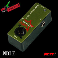 Moen Nano Electric Bass or Guitar DI Speaker Simulator  NDI-E NEW JUST RELEASED!