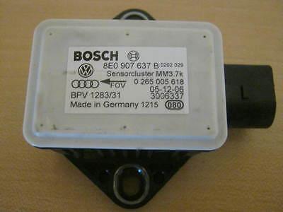 Audi A4 8E A6 4F A8 4E Steuergerät ESP Drehratensensor Beschleunigung 8E0907637B