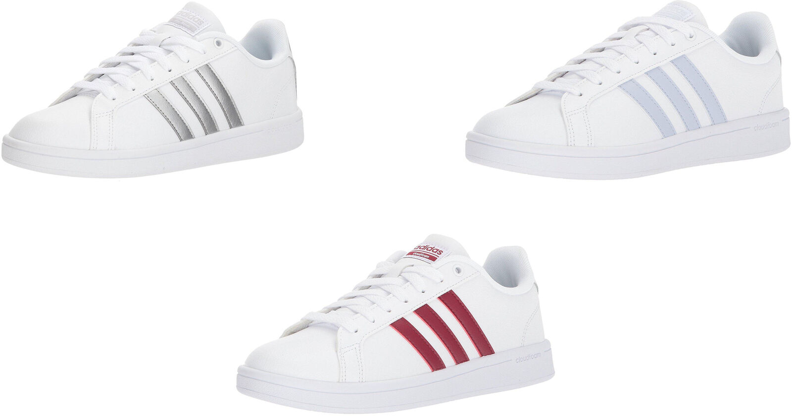 adidas women's shoes cloudfoam advantage sneakers