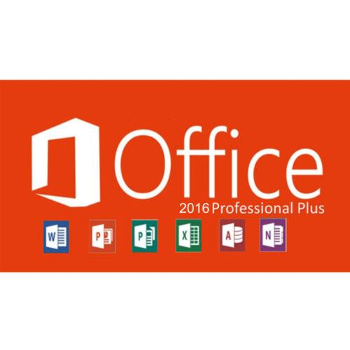 Office Professional Plus 2016 Key Original Lifetime
