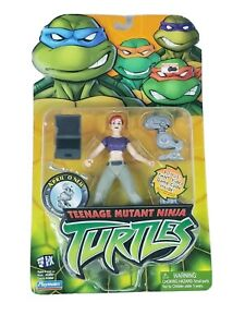 Teenage Mutant Ninja Turtles April O Neil Tmnt 2003 Playmates 4 5