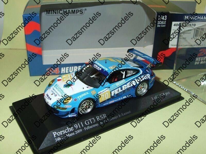 Minichamps Porsche 911 GT3 RSR LeMans 09 Felbermayr 096970