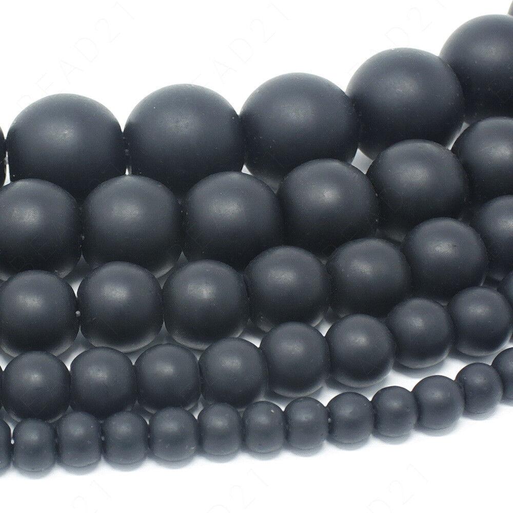 "Natural Gemstone Beads Round 4mm 6mm 8mm 10mm 12mm 15.5"" Strand  | eBay"
