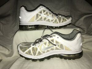 Details about Mens Nike Air Max 2011 Shoes White Sneakers Size12