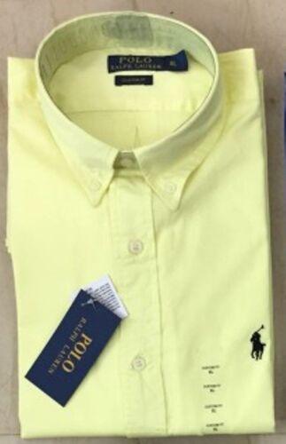 Ralph Lauren Men/'s Shirt Long Sleeve Men Custom Fit S M L XL XXL