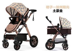 Value Baby Stroller Pram Fold Strollers for Children Travel Pushchair Multicolor