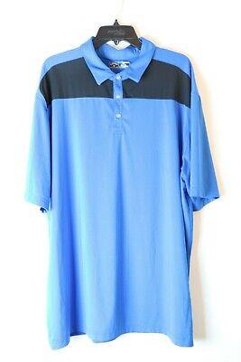 Callaway Golf Men S 2xl Blue Ss Polo Shirt Heart Logo Ebay