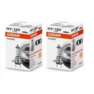 2x-OSRAM-h7-Classic-64210-CLC-Lampe-12-V-55-W-64210clc-autolampe-Ampoule-Poire