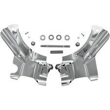 Kuryakyn 7833 Chrome Neck Covers for 07-14 Harley Softails