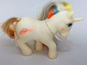 Vintage My Little Pony Rainbow Bouquet Brush In Grow Unicorn 1985 Ebay