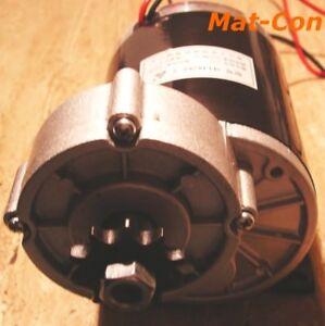 Los engranajes rectos motor eléctrico my1020z 0,6kw 36v 12nm 480rpm, pies, izquierda + derecha  </span>