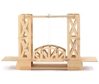 Ascensore Ponte: Esploratori Lavoro Legno Ponte Costruzione Kit Modello Età 7