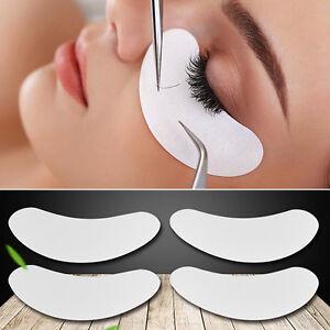 50-Paar-100-Stueck-Augenpads-Wimpernverlaengerung-Hydrogel-Gel-Pads-fusselfrei