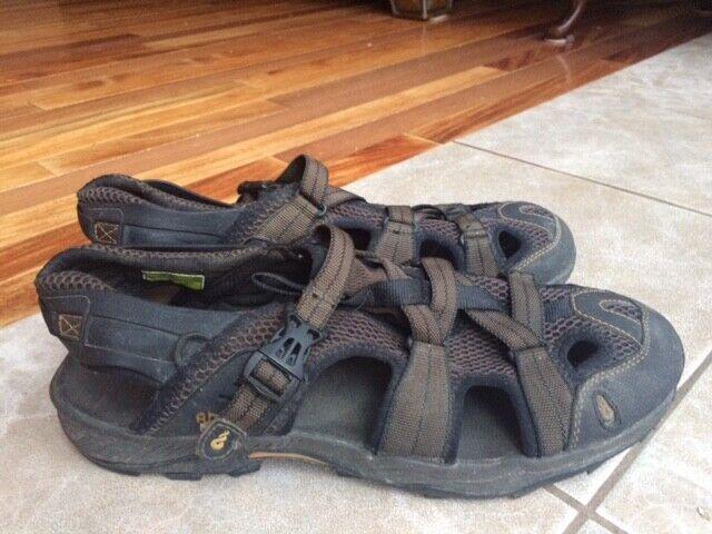 Ahnu Kovar Sport Sandals Smokey Brown
