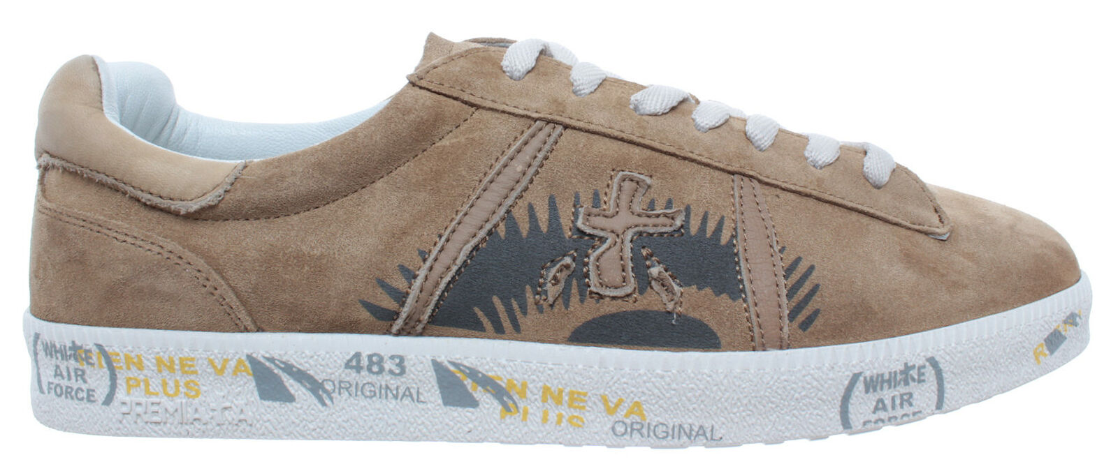 Men's shoes Sneakers PREMIATA Andy 3861 Suede Beige New