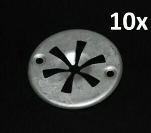 Para-VW-SEAT-audi-10x-klemmscheibe-KLIPS-clips-cubierta-del-motor-termico-proteccion-de-chapa