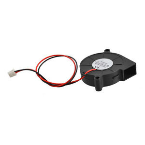Black-Brushless-DC-Cooling-Blower-Fan-5015S-12V-0-14A-50mm-x-15mm-DT