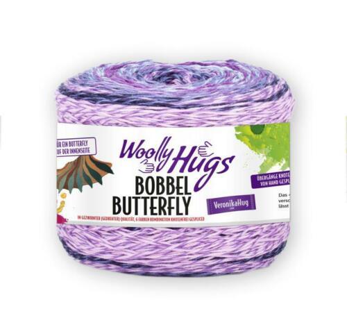 200g Garn Häkeln Stricken Woolly Hugs 100gr//8,975€ Pro Lana Bobbel Butterfly