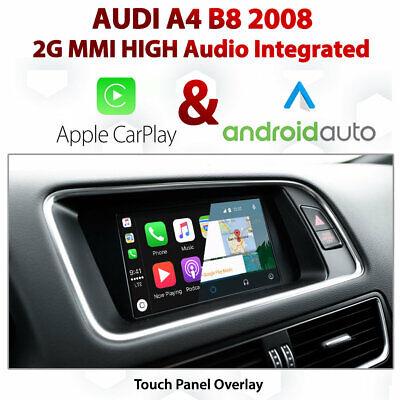 Audi A4 2g Mmi High Touch Overlay Apple Carplay Android Auto Integration Ebay