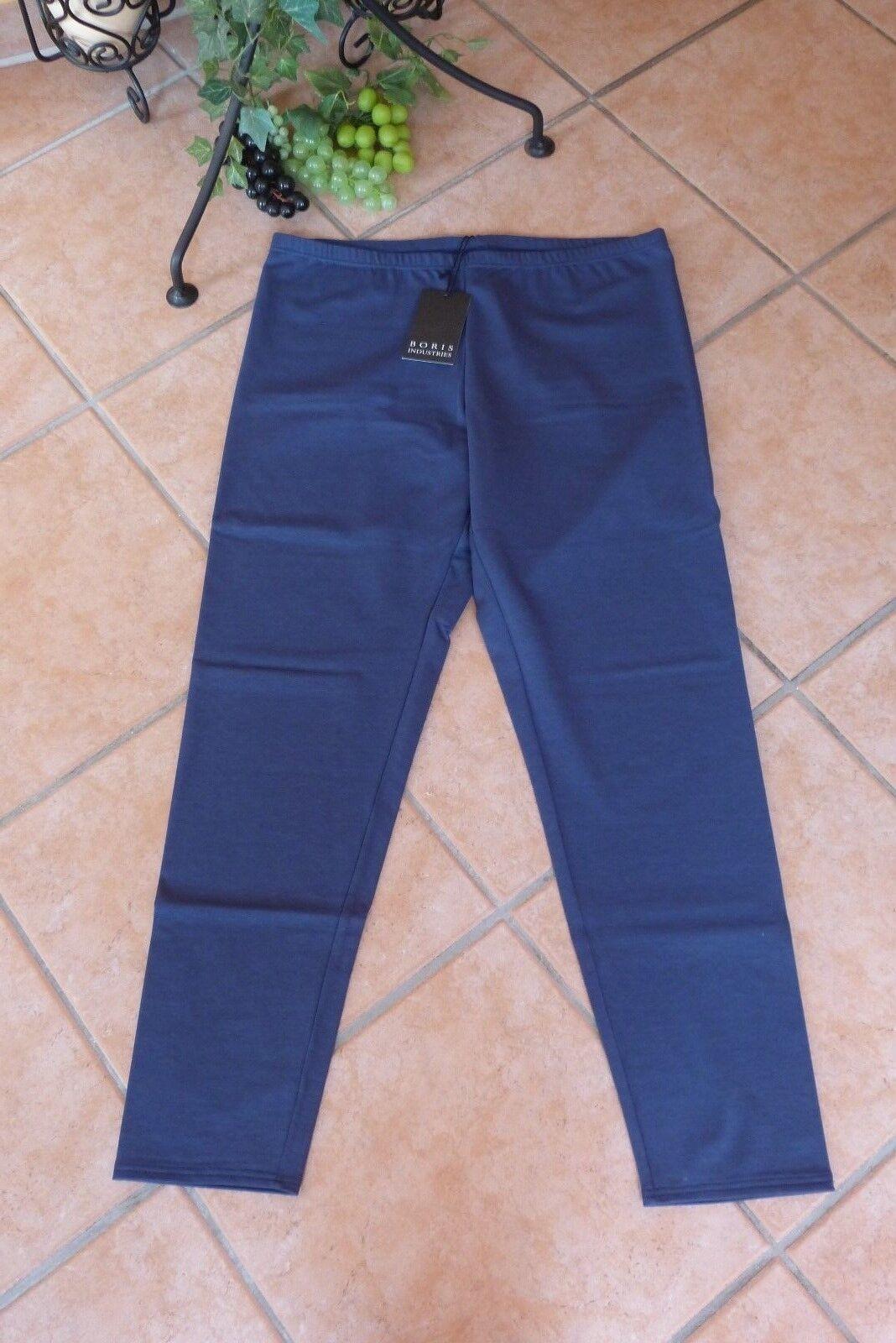 BORIS INDUSTRIES Leggings Winter 40 42 (2) NEU jeansblue Double Face LAGENLOOK