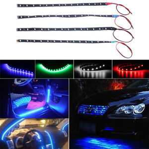 Waterproof-LED-CarMotor-VehicleFlexible-Waterproof-Strip-LightSoft-Strip-R6V-Fad
