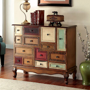 Image Is Loading Desree Accent Chest Cabinet Storage Console Table Multi