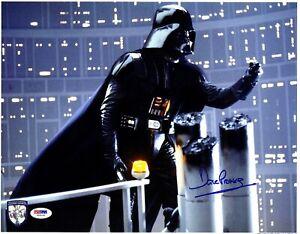 DAVE PROWSE Signed Darth Vader STAR WARS 11x14 Official Pix Photo PSA/DNA V50141
