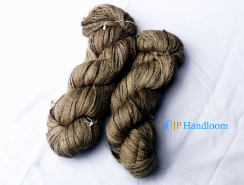 500 gm Lace weight Tussah Peduncle silk Blended Hand spu fine yarn weave /& knit
