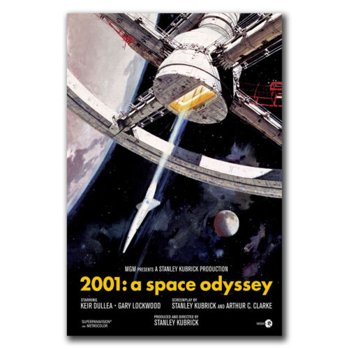 E3044 Art 2001 A Space Odyssey Movie Poster Hot Gift 24x36 40inch
