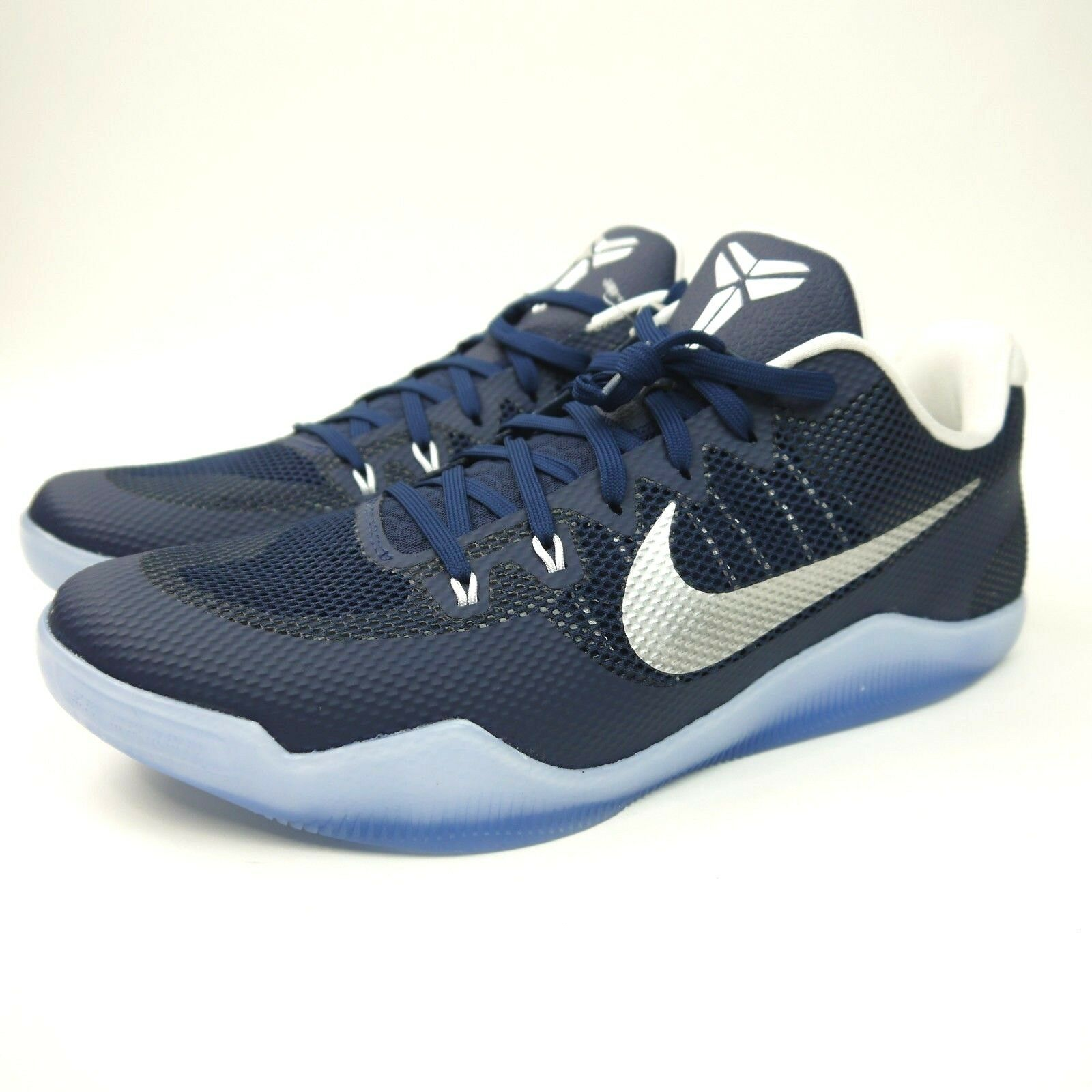 58845b6706d86d NEW Nike Kobe XI 11 TB PROMO 856485-442 White Navy Icy White Navy ...