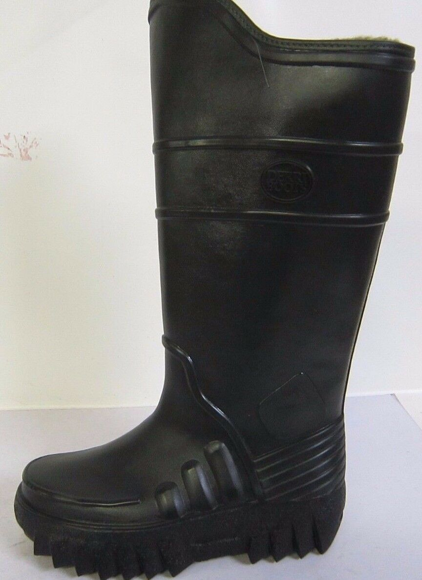 GREEN FISHING WELLINGTON BOOTS WITH THERMAL FLEECE SIZE 7 892-70212