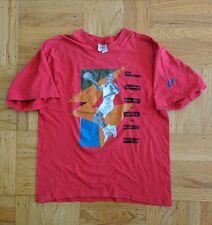 Vintage Nike Air Jordan VII original t shirt sz S 1992 Red RARE VTG