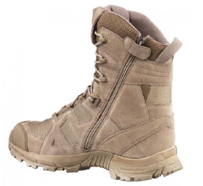 HAIX negro Eagle athletic botas 11 High Desert sidezipper outdoor botas athletic botas talla 45 54fdbb