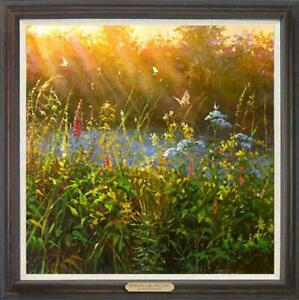 "Hand painted Original Oil Painting art landscape Flower on canvas 30""x30"""